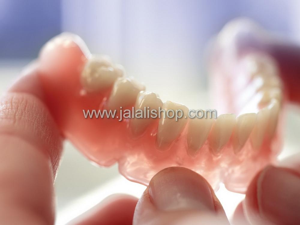 دندان مصنوعی ژله ای